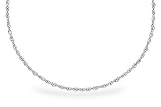E318-52656: 1.5MM 14KT 22IN GOLD ROPE CHAIN WITH LOBSTER CLASP